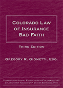 Colorado Law of Insurance Bad Faith